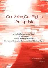 Update to Our Voice Our Rights (May 2015)